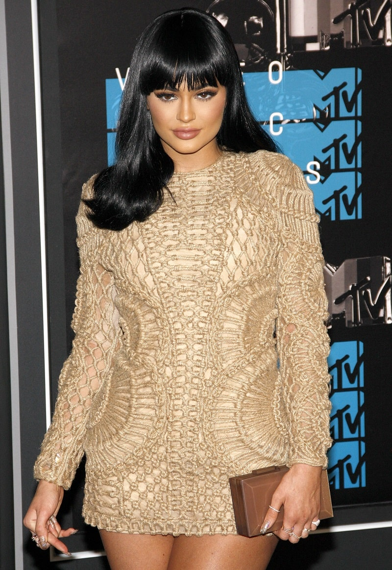 Kylie Jenner at the 2015 MTV Video Music Awards held at the Microsoft Theater in Los Angeles