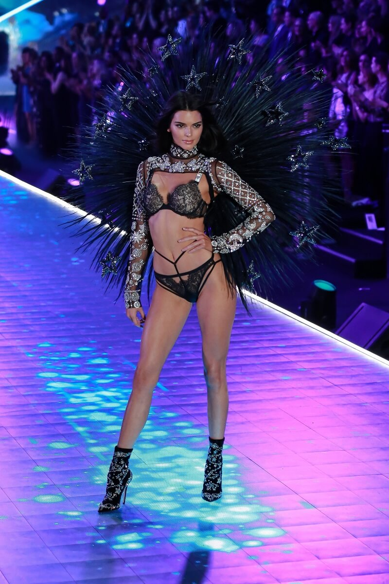 Kendall Jenner on the runway for 2018 Victoria''s Secret Fashion Show - Runway, Pier 94, New York, NY November 8, 2018