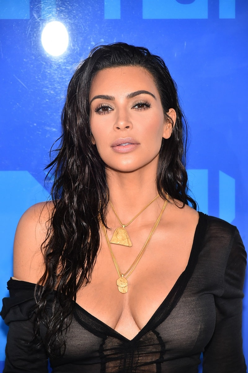 Kim Kardashian attends the 2016 MTV Video Music Awards at Madison Square Garden, New York, NY August 28, 2016