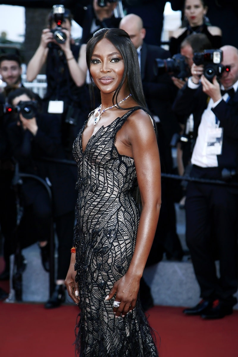 Naomi Campbell attends the 70th Anniversary of the 70th Cannes Film Festival on May 23, 2017 in Cannes, France