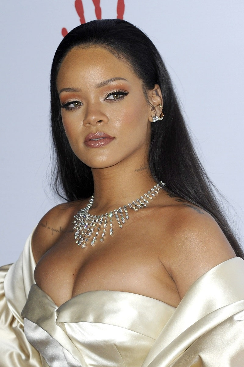 Rihanna at the 2nd Annual Diamond Ball held at the Barker Hanger in Santa Monica, December, 10, 2015