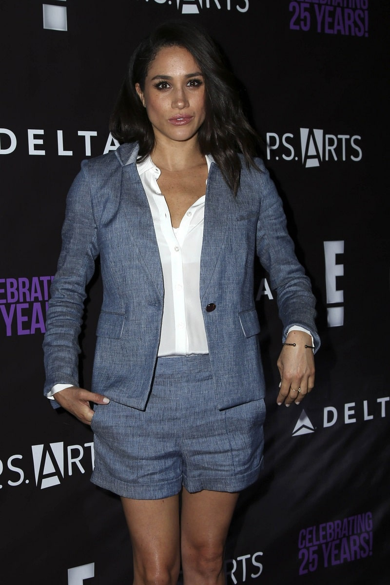 Meghan Markle at PS Arts' The Party, NeueHouse, Hollywood, CA 05-20-16