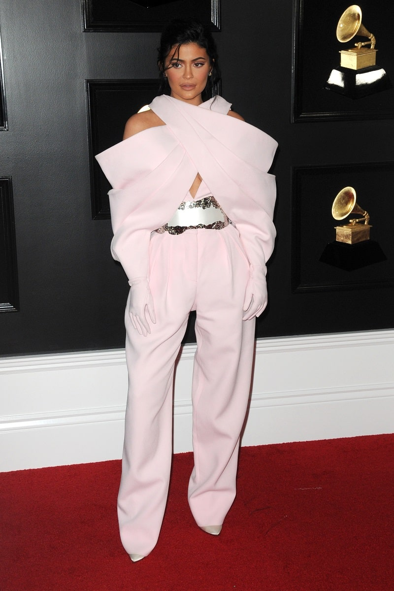 Kylie Jenner at the 61st Grammy Awards at the Staples Center on February 10, 2019 in Los Angeles, CA