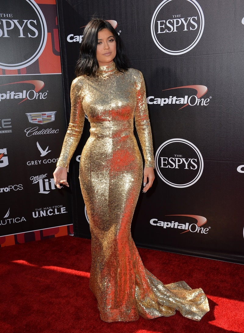 Kylie Jenner at the 2015 ESPY Awards at the Microsoft Theatre LA Live